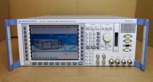 Rohde & Schwarz CMU-200 Universal Radio Communication-Tester 1100.0008.02 R&S
